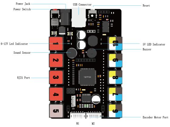 Me Auriga - Arduino deska pro mBot Ranger - vlastnosti