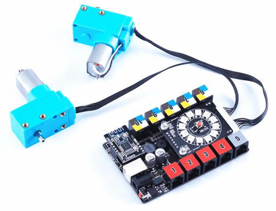 Motor 180PRM s optickým enkodérem zapojení
