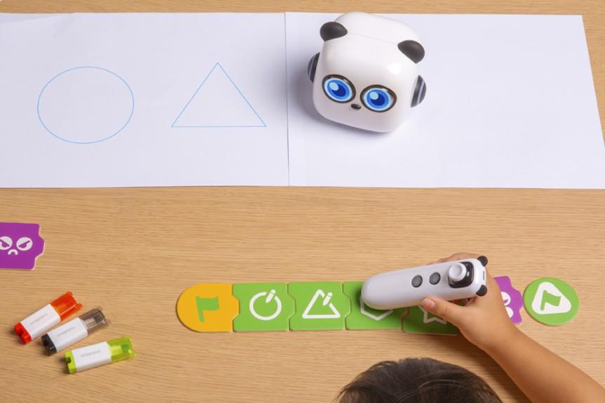 mTiny Discover Kit - výukový robůtek pro děti - kreslení obrazců