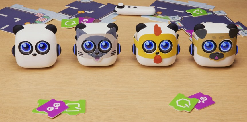 mTiny Discover Kit - výukový robůtek pro děti masky
