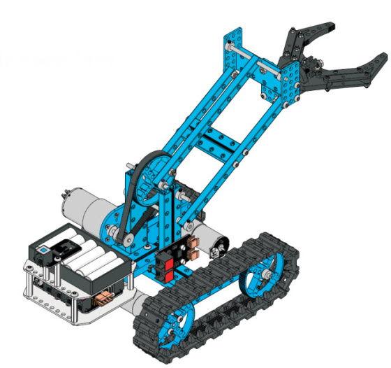 Robotická ruka pro Starter Robot Kit tank