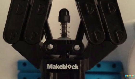 Robotické chapadlo - design