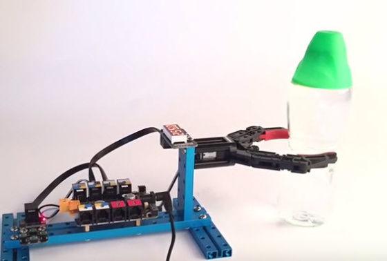 Robotické chapadlo - pevný úchop