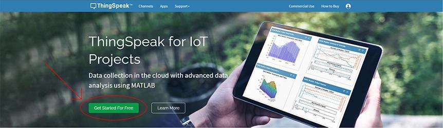 Meteostanice v Cloudu s deskou Arduino UNO WiFi Rev2 - ThinkSpeak
