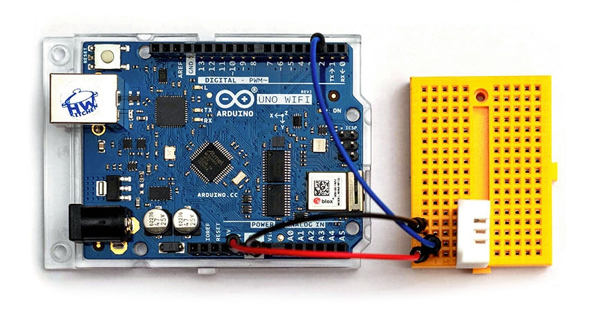 Meteostanice v Cloudu s deskou Arduino UNO WiFi Rev2 - zapojení