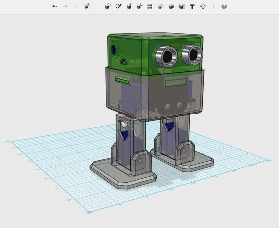 Otto diy maker kit bez tela z 3d tisku 3D model