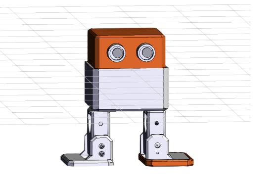 Otto DIY Maker Kit + (bez těla z 3D tisku) - 3D modelování