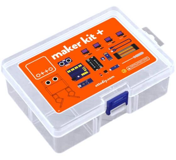 Otto DIY Maker Kit + (bez těla z 3D tisku) balení