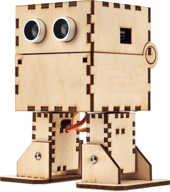 Otto DIY Maker Kit + (bez těla z 3D tisku) - dřevěné tělo