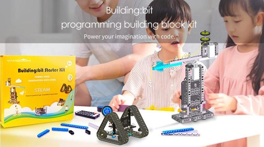 Building:bit Block kit stavebnice hi-tech robotů 9v1 pro LEGO® projekty