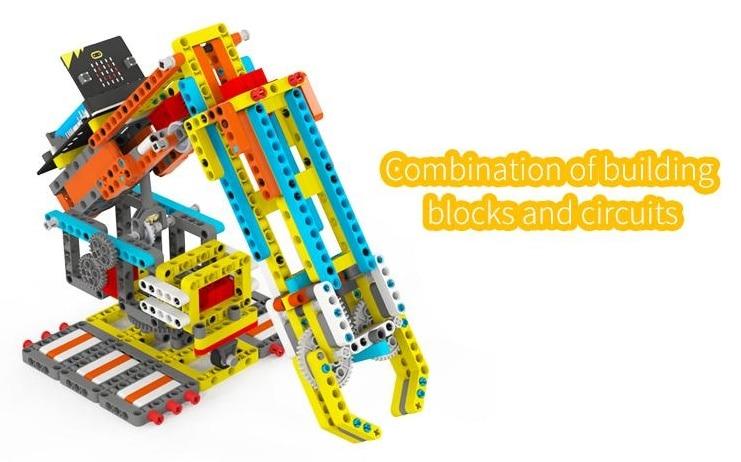 Programovatelná robotická ruka Arm:bit pro LEGO® - microbit a LEGO