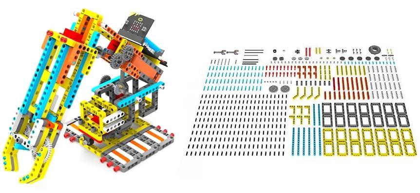 Programovatelná robotická ruka Arm:bit pro LEGO®