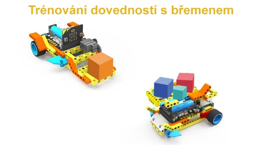 Programovatelné vozítko Running:bit kompatibilní s LEGO® předměty