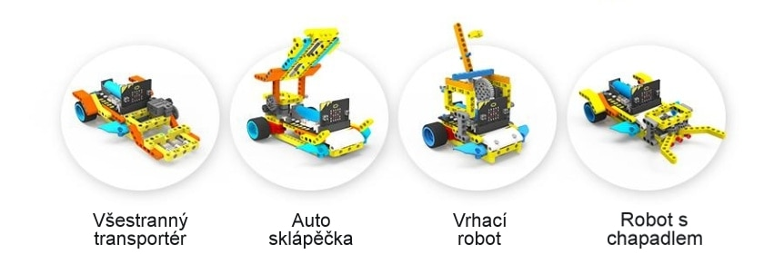 Programovatelné vozítko Running:bit kompatibilní s LEGO® projekty