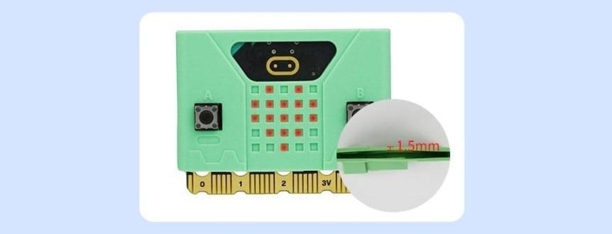 Silikonový obal na Micro:bit V1/V2 LED matrix