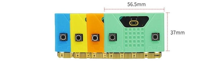 Silikonový obal na Micro:bit V1/V2 rozměry