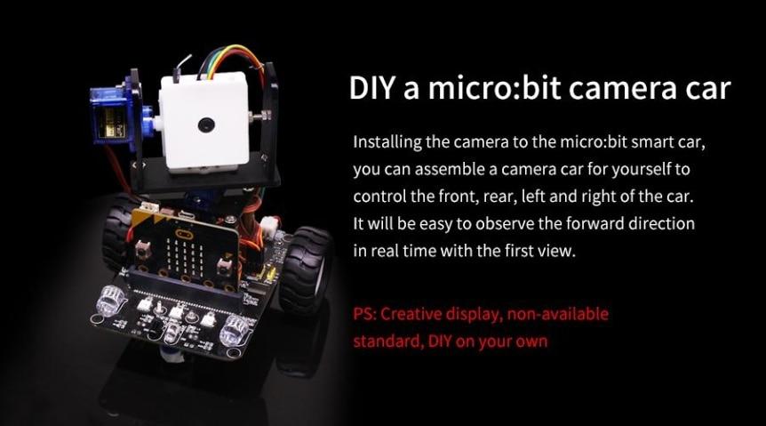 wifi-kamera-2-dof-drzak-superbit-pro-microbit-vozitko