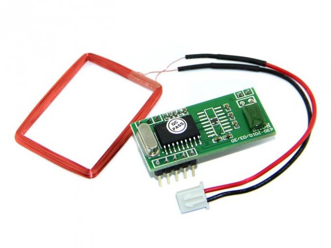 125KHz RFID Modul - UART