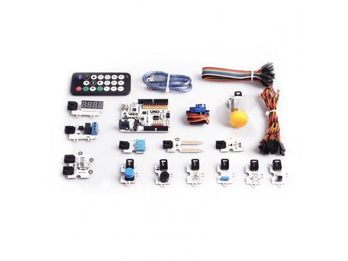 Arduino Starter Kit (pro začátečníky) součásti