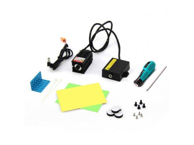 Vypalovací laser pro XY-Plotter