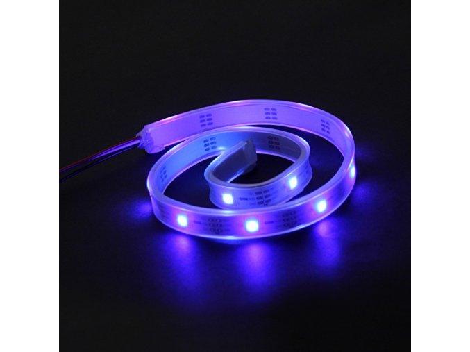 RGB LED pásek - adresovatelný, utěsněný 0,5m - modrá