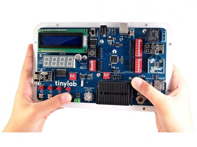 Tinylab Arduino Kit v akci