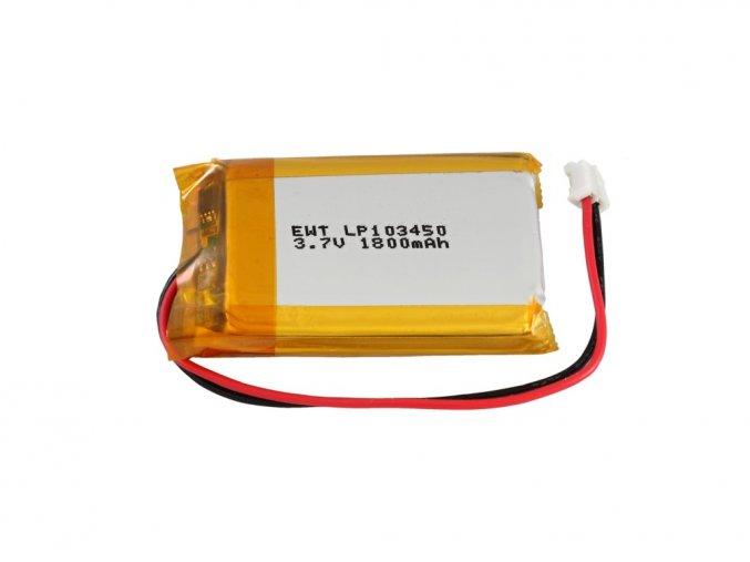 Akumulátor Li-Po 3,7V 1800mAh