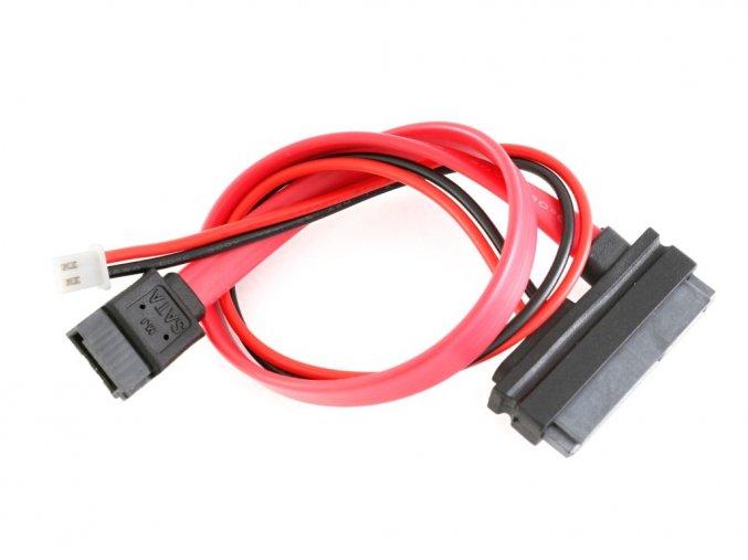 pcDuino3 SATA kabel s napájením