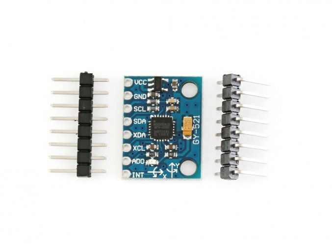 3osý akcelerometr a gyroskop GY-521 MPU-6050