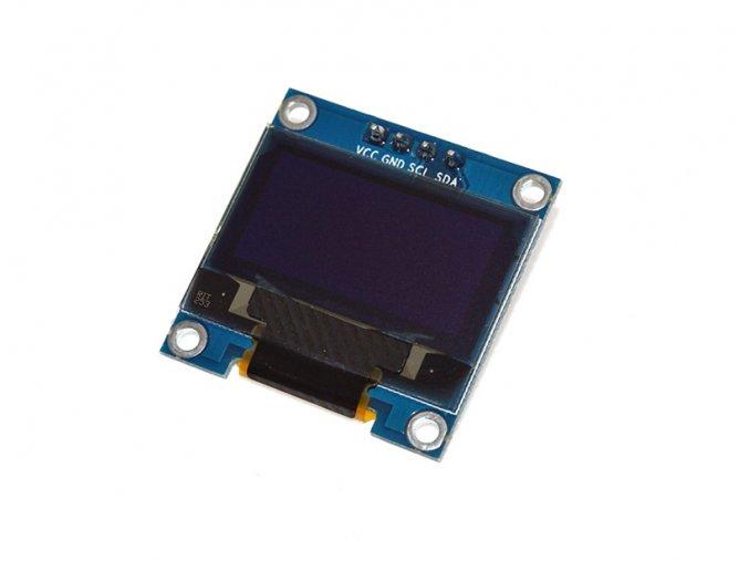"""Grafický displej OLED 0,96"""" 128x64 I2C bílý"""