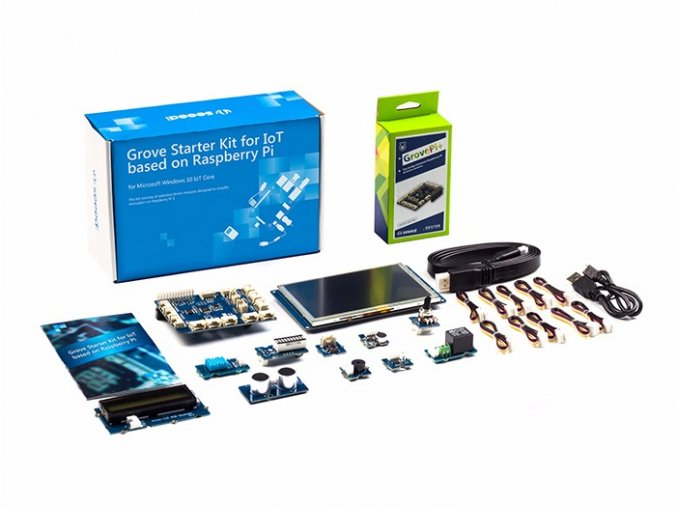 Grove Starter Kit pro IoT s Raspberry Pi