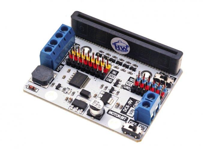Motor:bit pro micro:bit - rozšiřující modul pro motory