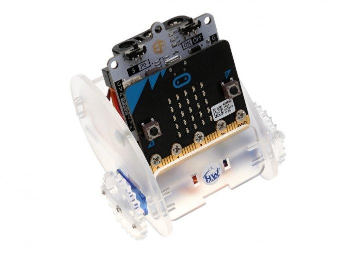 Ring:bit - Micro:bit výukový robot pro děti s Micro:bit