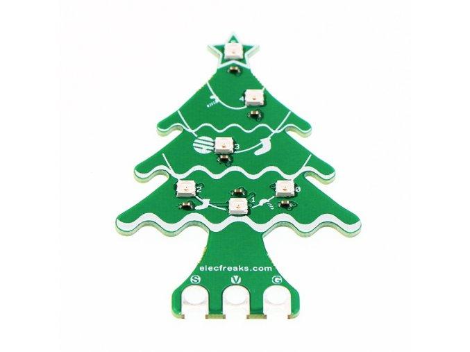 RGB LED vánoční stromek pro micro:bit