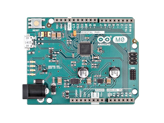 Arduino M0 zepředu