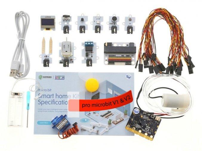 BBC micro:bit kit pro chytrou domácnost s microbit v2