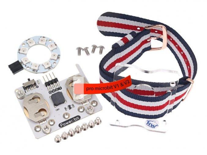 Power:bit kit pro micro:bit V2 hodinky