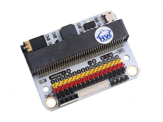 Senzor:bit pro micro:bit - univerzální rozšiřující modul