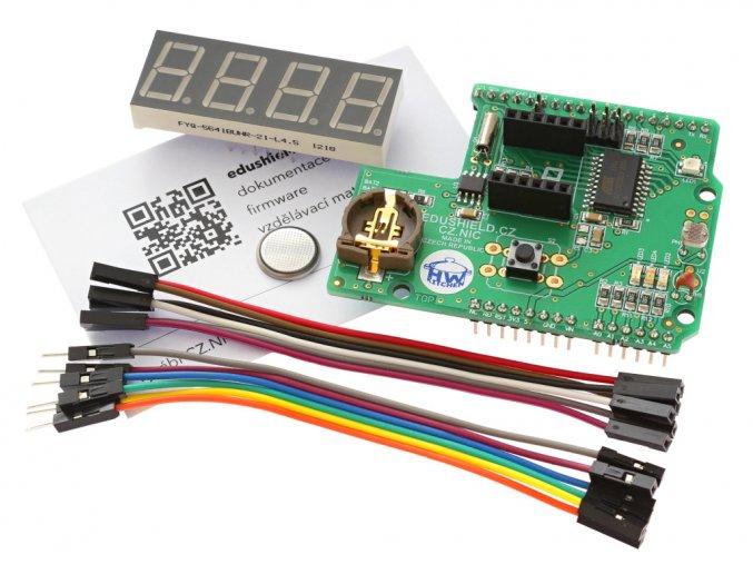 EduShield - výukový Shield pro Arduino