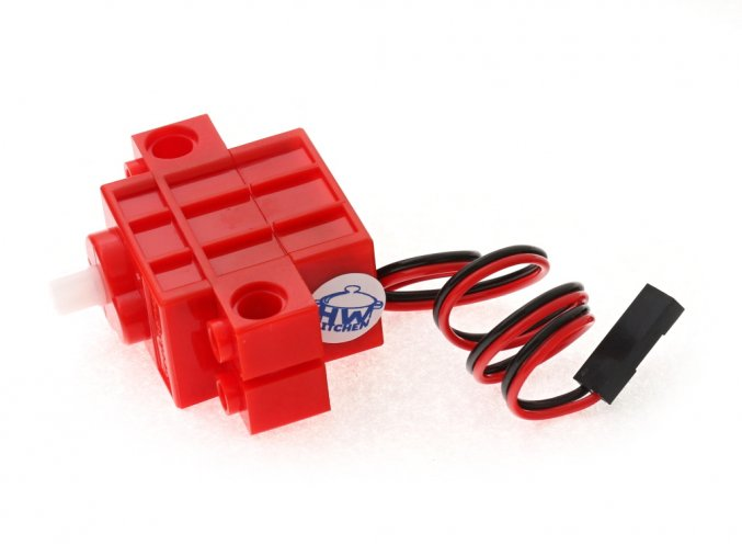 Geekservo motor kompatibilní s LEGO