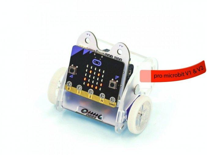 Ring:bit V2 - Micro:bit výukový robot pro děti s deskou micro:bit V2