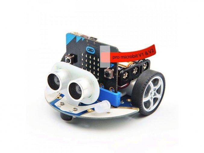 Cutebot - Micro:bit chytré závodní auto s microbit V2