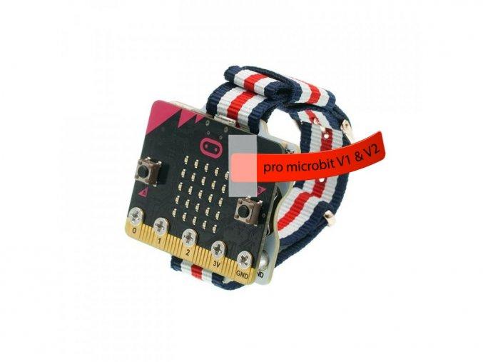 Micro:bit chytré hodinky (Smart Coding Kit) s microbit V2