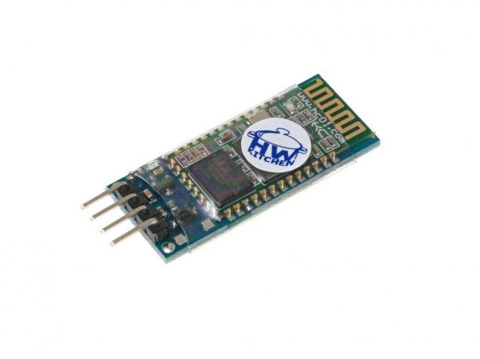 Bluetooth modul HC-06 zvrchu