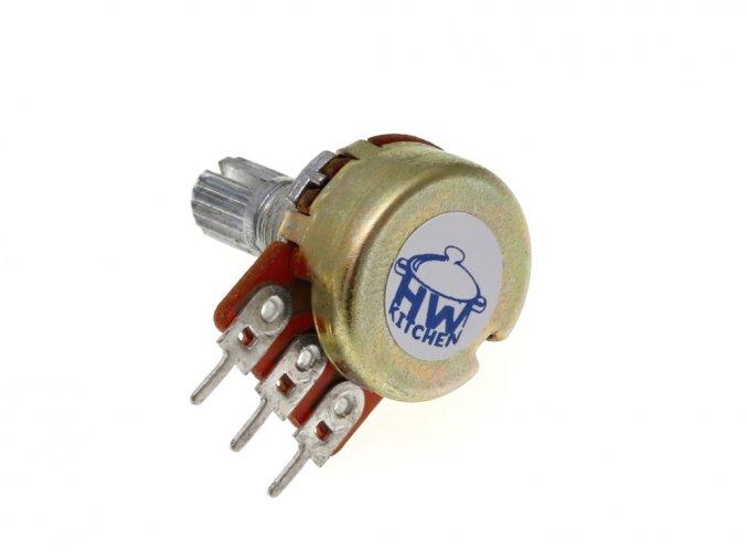 Potenciometr 10kΩ 0,5W lineární