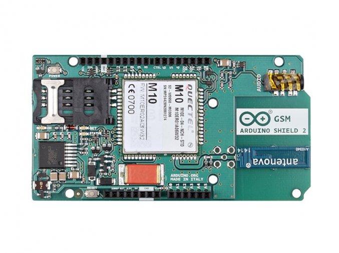 Arduino GSM Shield 2 (integrovaná anténa)