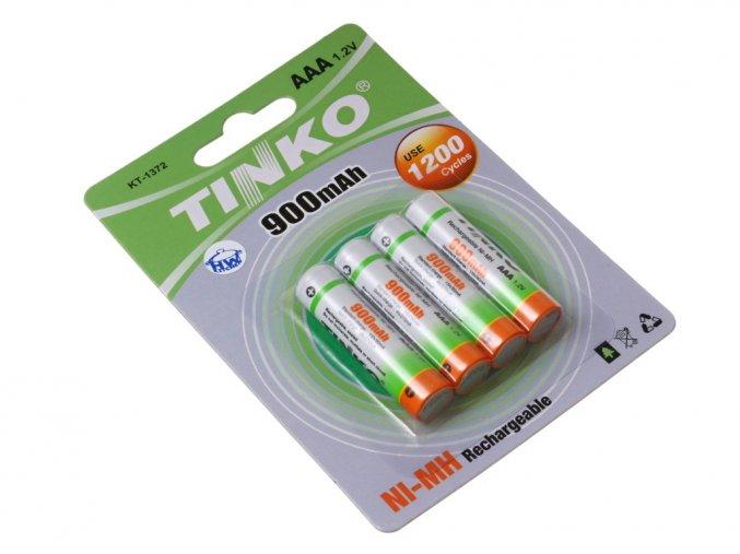 Nabíjecí baterie AAA NiMh 900mAh TINKO