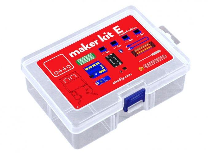 Otto DIY Maker Kit Eyes (bez těla z 3D tisku) červená