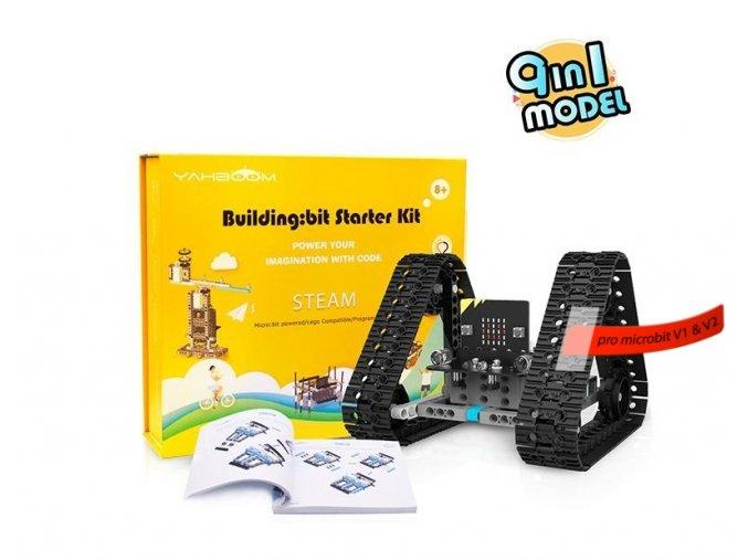 Building:bit Block kit stavebnice hi-tech robotů 9v1 pro LEGO® a microbit