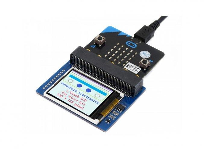 """1.8"""" 160x128 barevný TFT LCD displej modul pro microbit"""